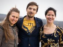 Mastersstudenter till tävling på Island