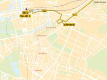 Skåneexpressen1 får ny körväg i Malmö från 14 december 2014