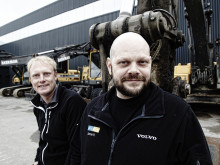 Jan Kihlstenius och Niklas Ahlgren (bakom) - Swecon begagnade reservdelar