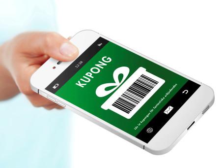 Retain24s mobila presentkort och kuponger
