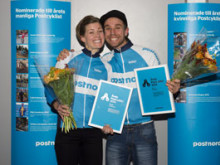 """Emma och Emil vinnare av titeln """"Årets cyklist"""""""