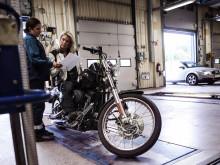 Fyra av fem motorcyklar godkänns hos Bilprovningen