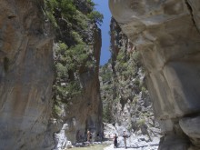 Decision Time in the Samaria Gorge