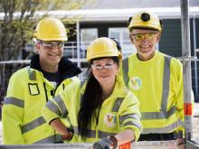 41 % av boendebyggarna har fått jobb