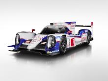 Toyota siktar på seger med fyrhjulsdrivna hybridracern TS040