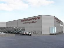 Martin & Servera bygger ny restaurangbutik i Bromma!