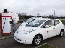 E.ON udbygger den jyske elbilmotorvej inden sommerferien