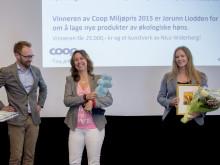 Vinnerne av Coop Miljøpris 2015