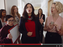Does this look familiar? A day in the life of a PR pro - watch our 'Walk & Talk' video