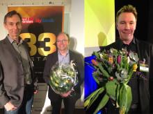 Syndigate från Umeå och Chargestorm från Linköping klara för entreprenörslistan 33-listan