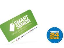 Smart Senior inleder samarbete med Fitness24Seven