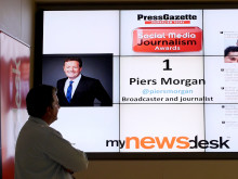 Piers Morgan named most influential UK journalist on social media