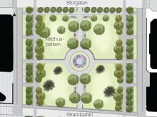 Nu startar ombyggnaden av Rådhusparken etapp 2
