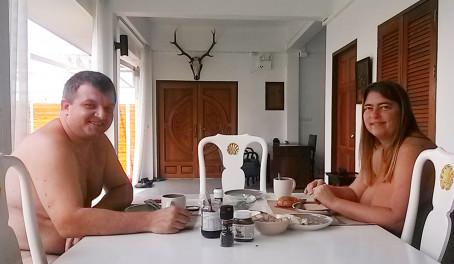 Naturist celebrities discover Thai naturism