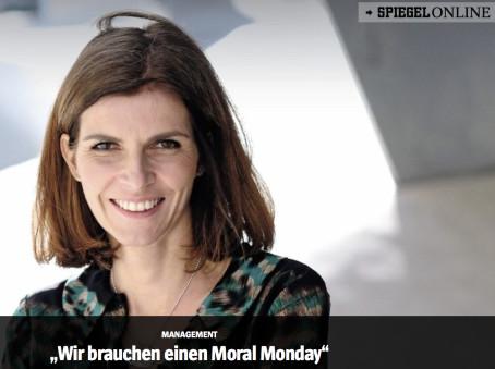GenCEO-Frau Evi Hartmann im SPIEGEL