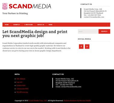 Scand-Media creates new website