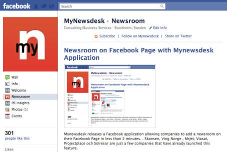 กระจายข่าวอัตโนมัติผ่าน Mynewsdesk