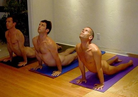 Naturist Association Holds First Naked Yoga Class