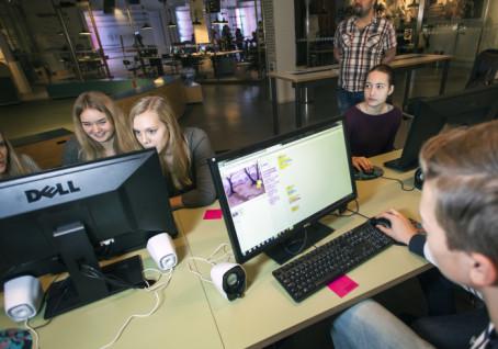 Dataspel byggs i 48 timmars programmeringsmaraton