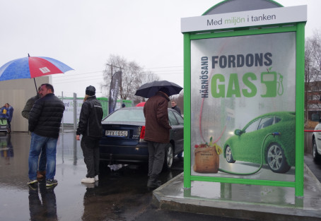 Två nya tankställen för fordonsgas i Härnösand och Sundsvall!