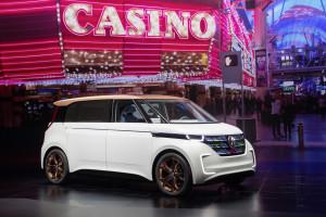 Volkswagen åbner med BUDD-e døren til fremtiden på CES-messen i Las Vegas