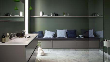 Badrum badrum modernt : Trendigt och modernt - Nytt kök badrum och tvättstuga - Vedum kök ...