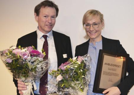 Anbudspriset 2015 går till Therése Westerlund  på Regeringskansliet
