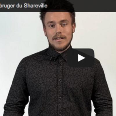 Sådan bruger du Shareville