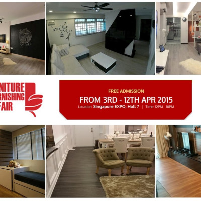 Evorich Flooring on Singapore Furniture and Furnishing Fair 2015