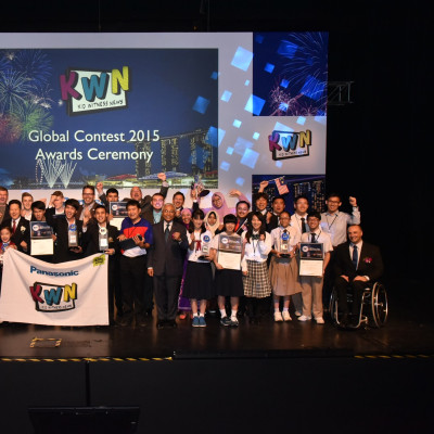 Documentary about the visually impaired by Thai students wins Panasonic Kid Witness News Global Contest 2015