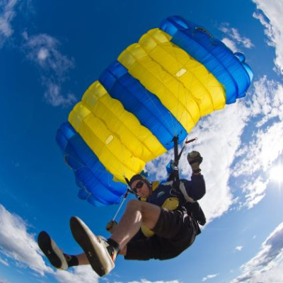 I dag startar SM i fallskärmshoppning!
