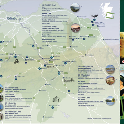 Borders' film heritage on the map