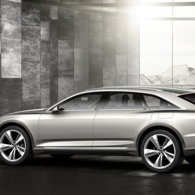 Audi prologue allroad left side rear