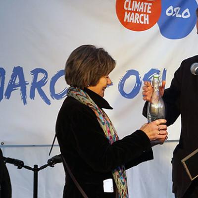 "Mer enn 3000 gikk ""Folkets klimamarsj"" i Oslo"