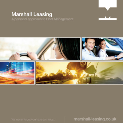 Marshall Leasing have a new brochure