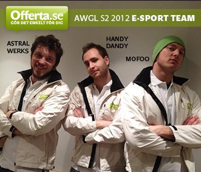 Team Offerta till final i AWGL säsong 2