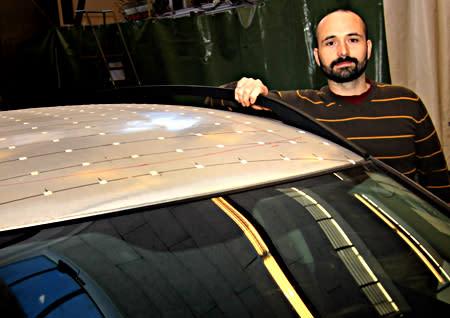 Nytt biltak ger minskad bränsleförbrukning