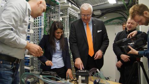 Stockholm först i Europa med 1000-fiberskabel
