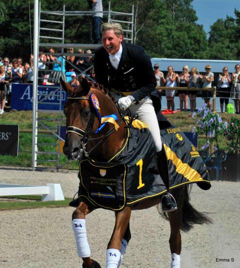 Patrik Kittel slog svenskt rekord vid Falsterbo Horse Show