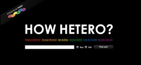 How Hetero nominerad i webbvärldens Oscarsgala