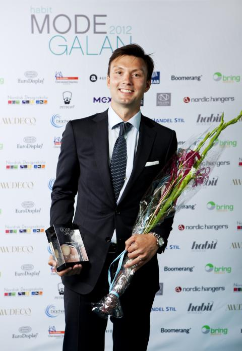 Vinnare Årets Herrbutik Habit Modegalan 2012 - Très Bien Shop, Malmö