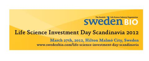 Record high numbers of presenting companies at major Scandinavian investor meeting arranged by SwedenBIO
