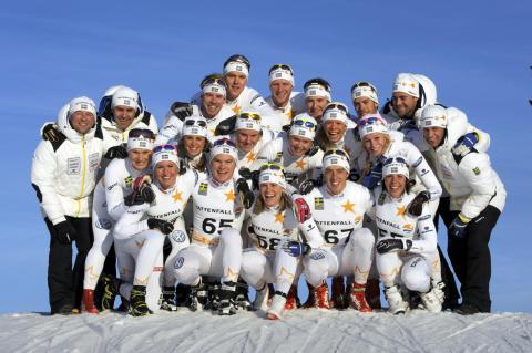 Renässans stolt supplier till Ski Team Sweden X-Country 2012