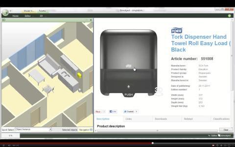 IFC experts Datacubist shows technology advancements with BIMobject concept.