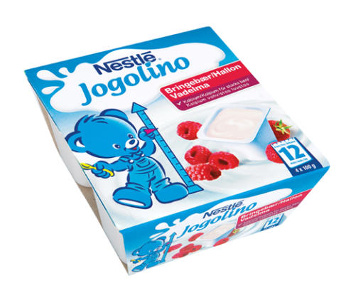 Jogolino blåbär och hallon – två nya goda smaker för små finsmakare från ett år