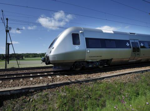 Här är nya snabbtåget SJ 3000