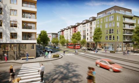 Nu får Järfälla sina första gator