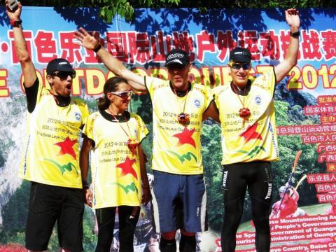 Thule Adventure Team in Führung beim renommierten Baise Outdoor Quest 2012 in China