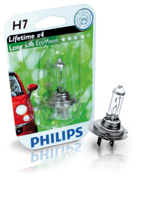 Philips introducerar LongLife EcoVision, billampan för dig som önskar mindre underhållsarbete