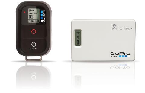 GoPro Wi-Fi Remote och BacPac